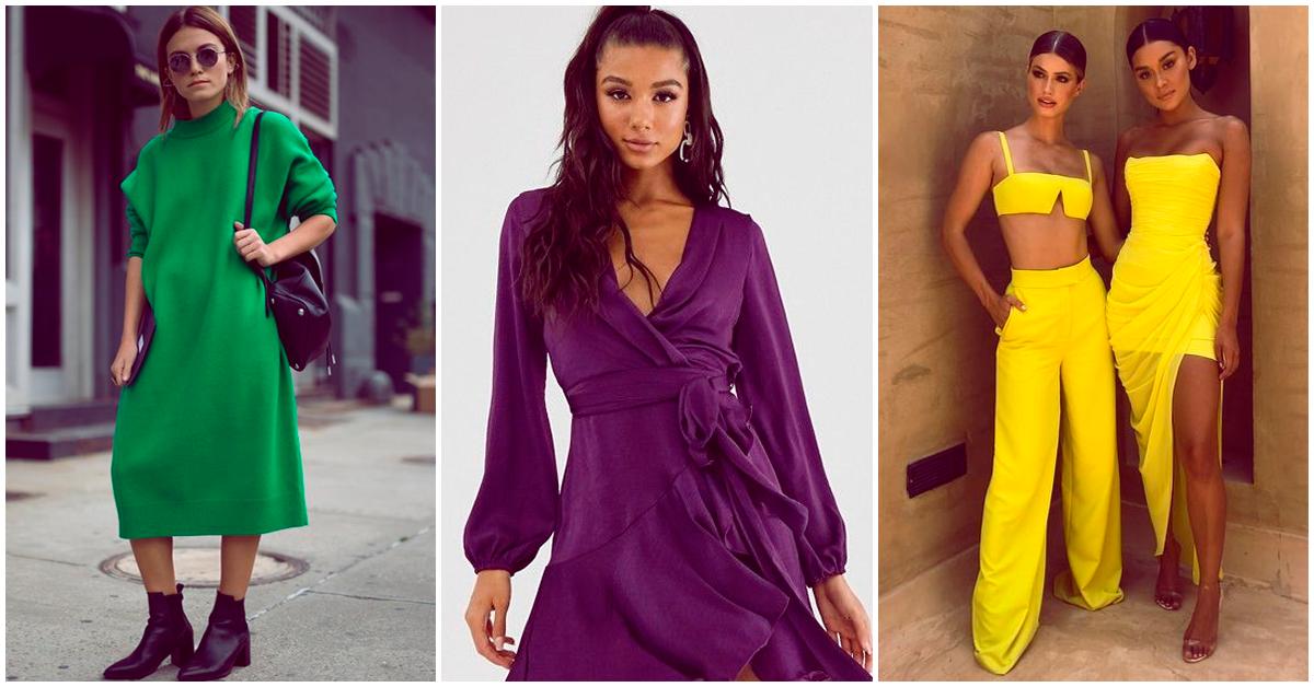 Los colores de moda para el 2021 son…