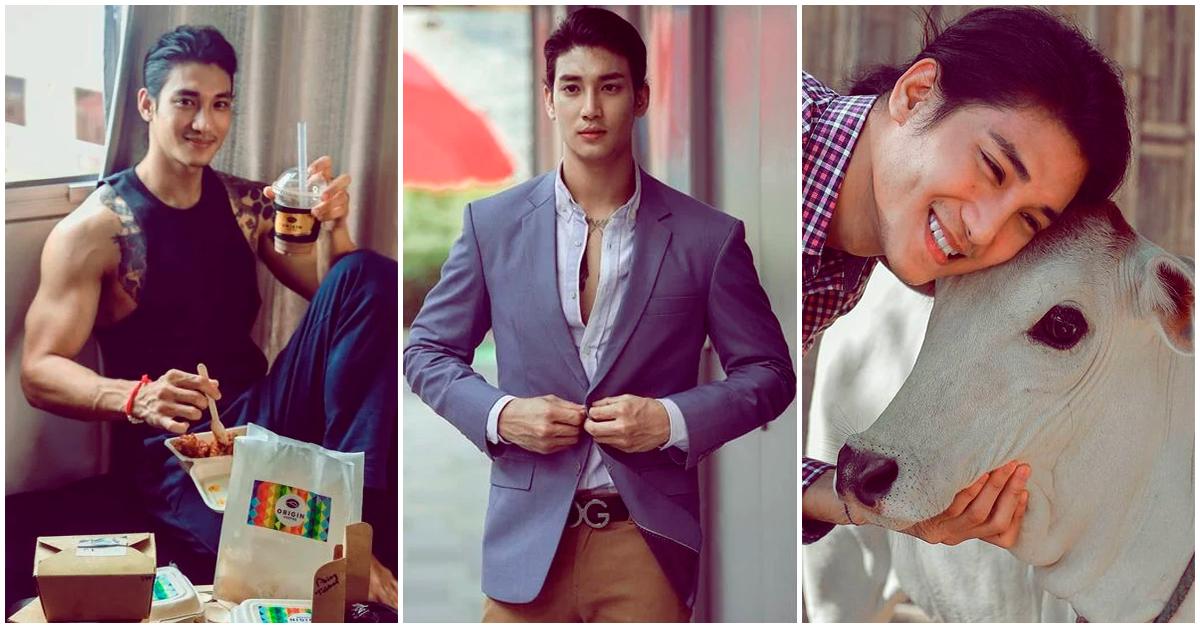 Paing Takhon, más que un modelo, un hombre de buen corazón