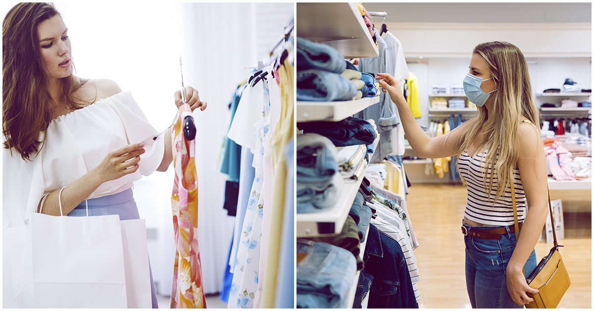 Trucos para comprar ropa sin probártela