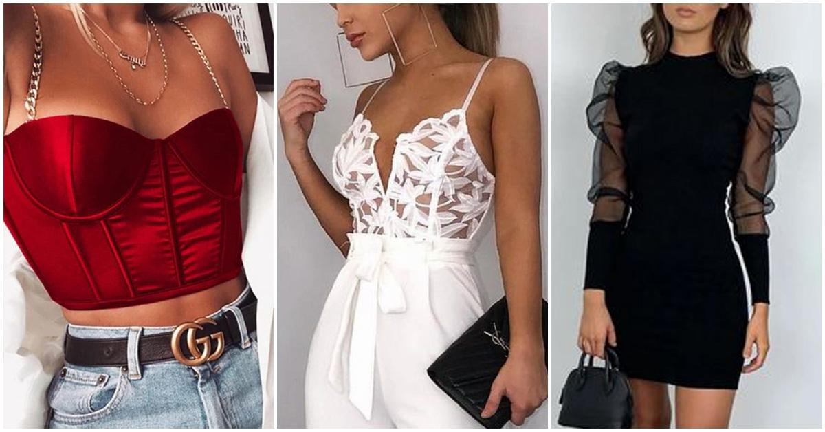 Outfits para esos días en los que te sientes sexy