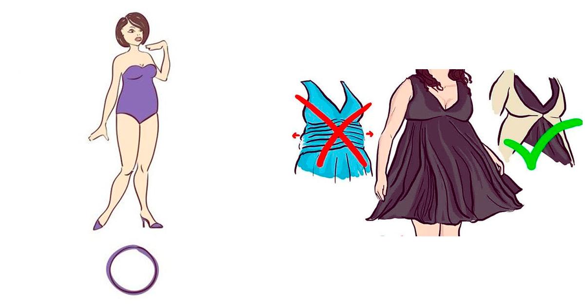 Consejos de moda para las chicas de cuerpo de manzana