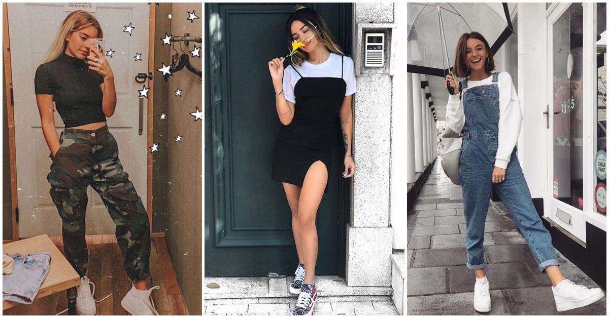 Combinaciones de ropa sencillas y sexys a tus 20s