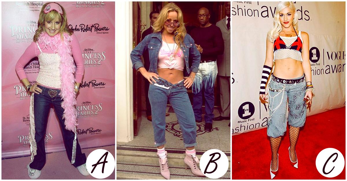 Los peores outfits de todos los tiempos de las celebridades