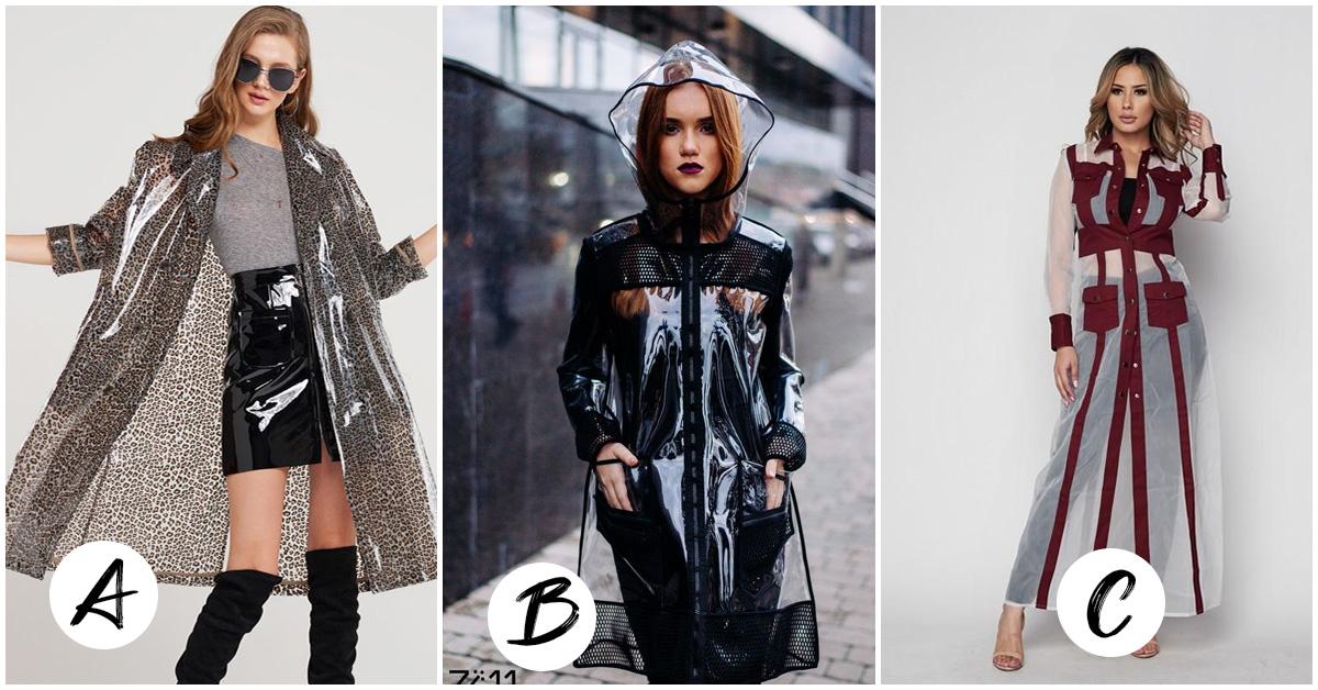 Cómo y cuando utilizar un impermeable para verte fashion