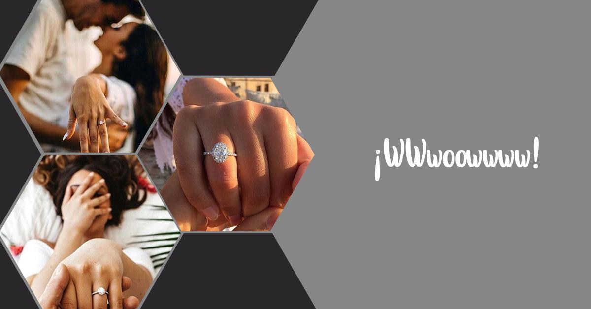 Anillo de compromiso: ¿Cómo lucirlo en tu instagram?
