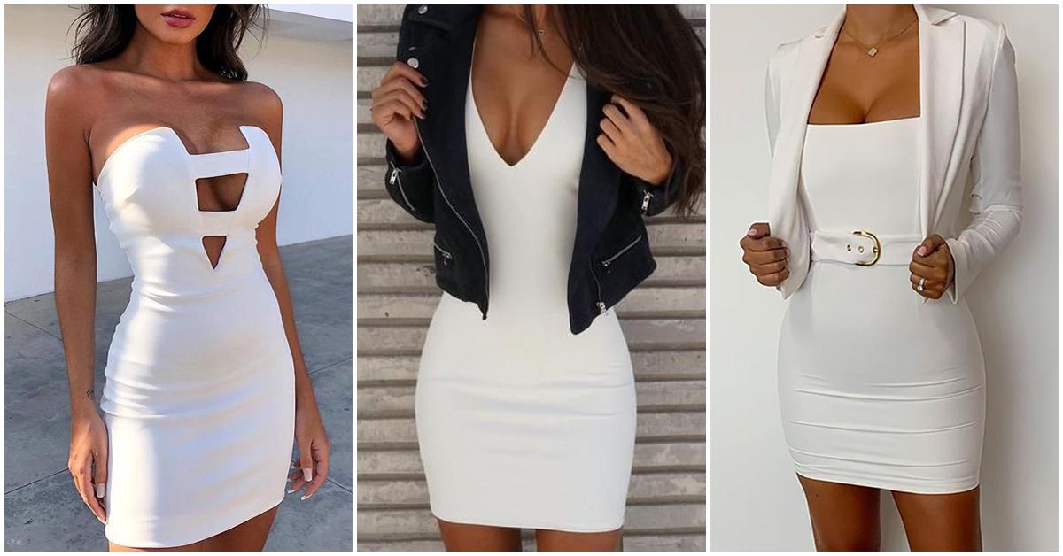 El mejor truco para lucir más curvilínea es : usar blanco