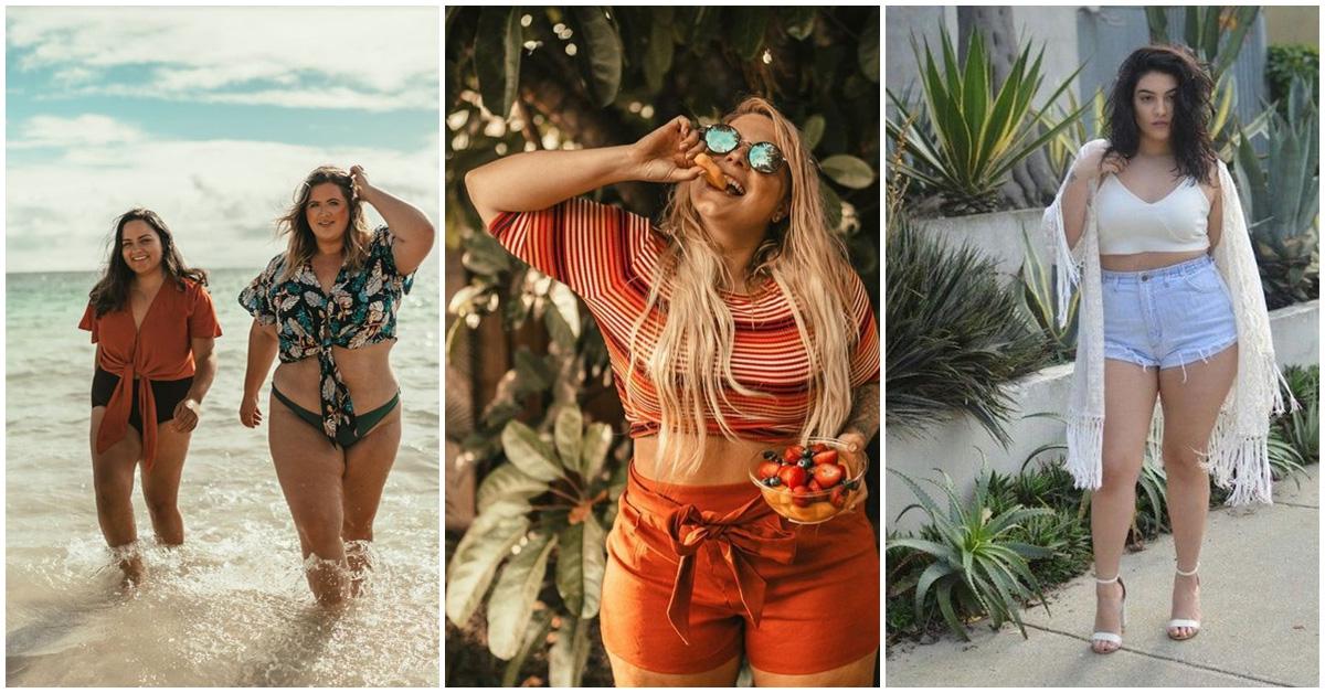 Curvy: outfits para lucir en la playa como una diosa