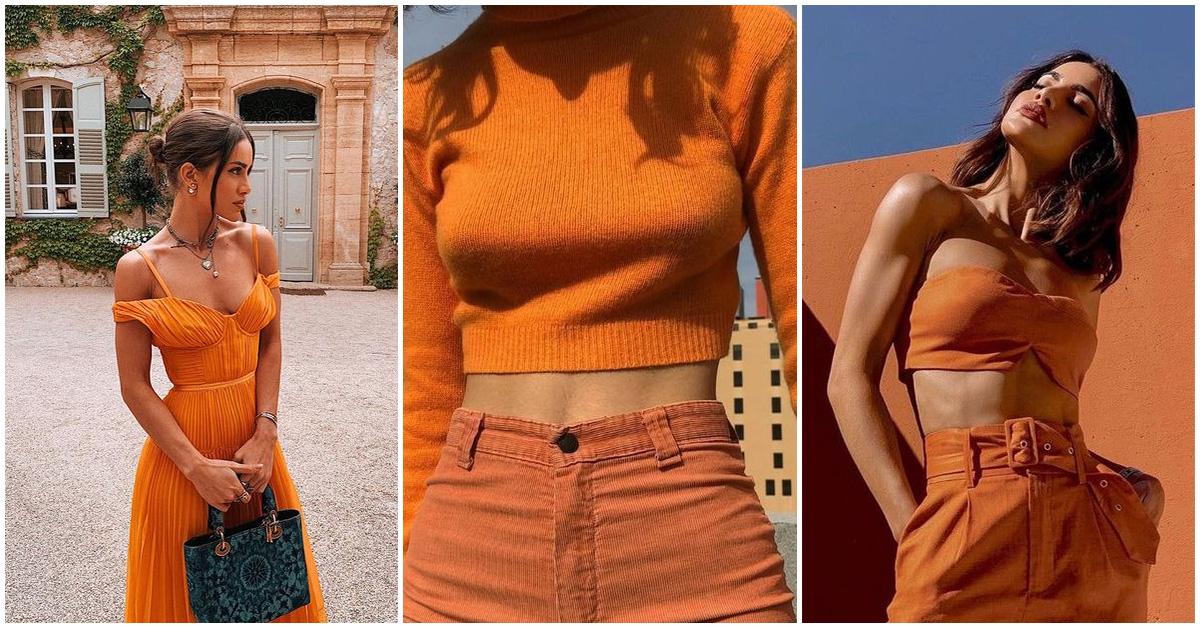 El color naranja esta de moda esta temporada ¿Cómo usarlo?