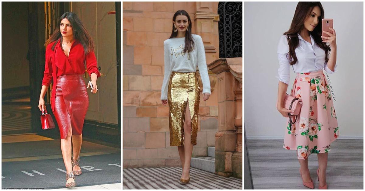 Estos son todos los tipos de falda que hay ¡son más de los que creía!