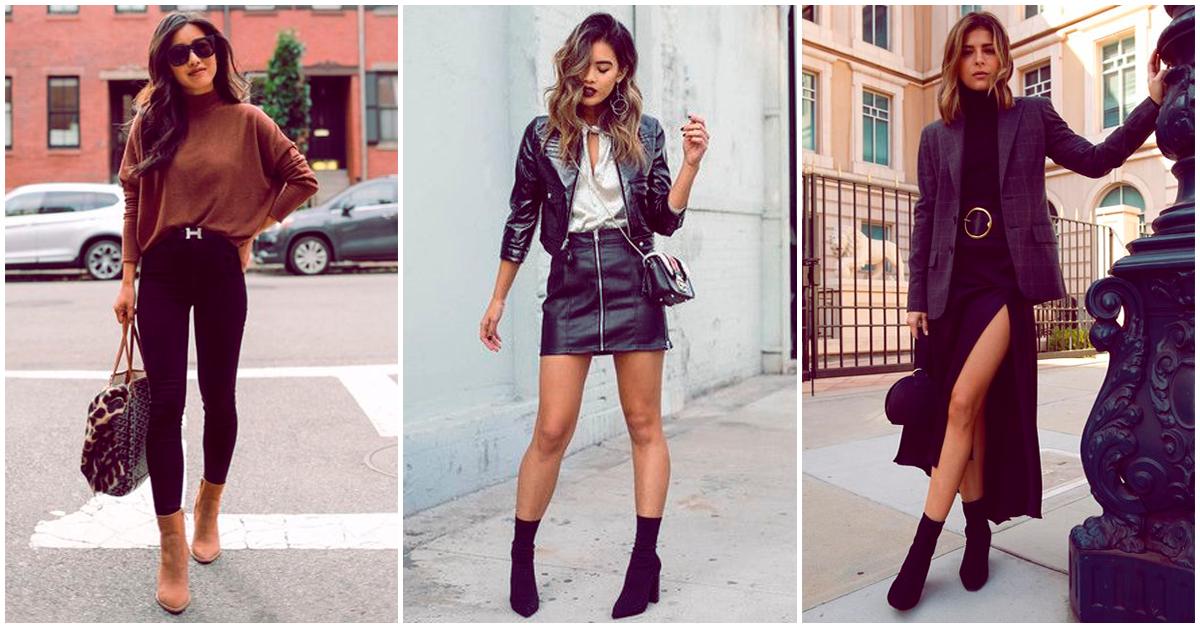 15 formas de incorporar sock boots a tu outfit