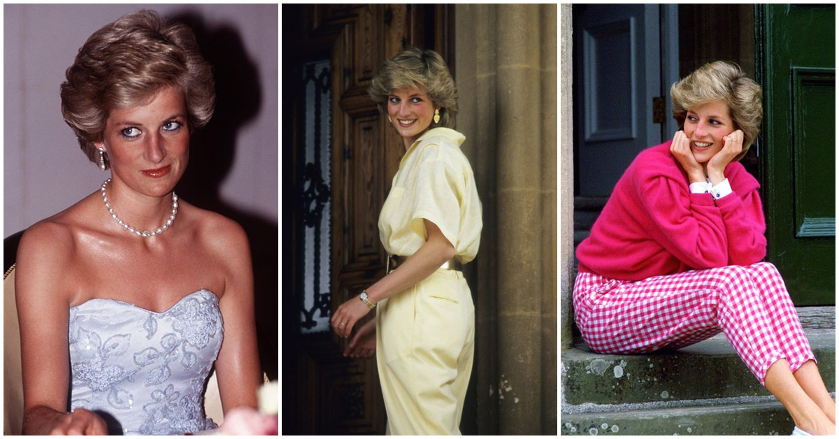 El outfit que inspiró la estatua de la Princesa Diana